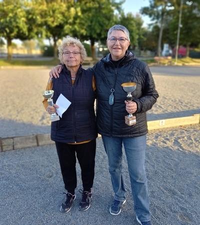 Championne & vice championne