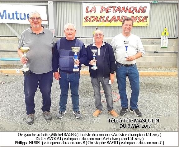 Championnat interne Tête à Tête
