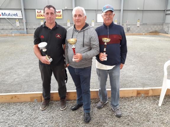 vainqueurs championnat interne triplette