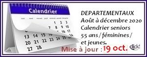 Calendrier concours site 12