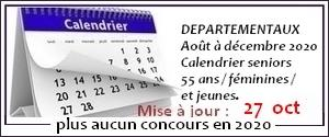 Calendrier concours site 15