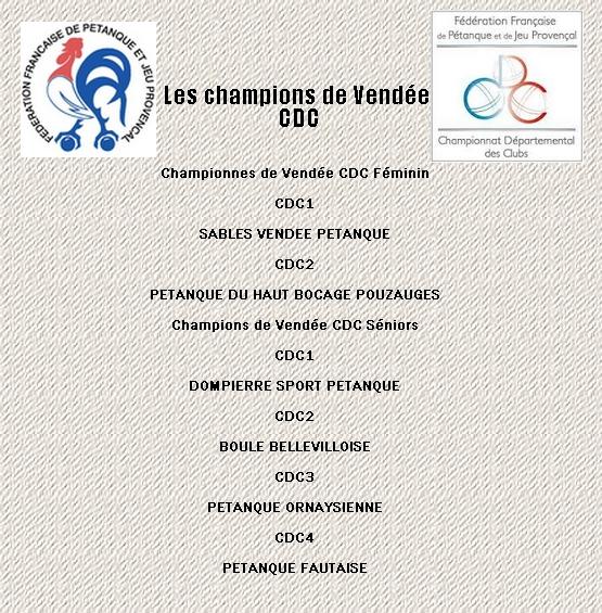 Champions cdc 1