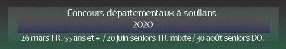 Departementaux 2021