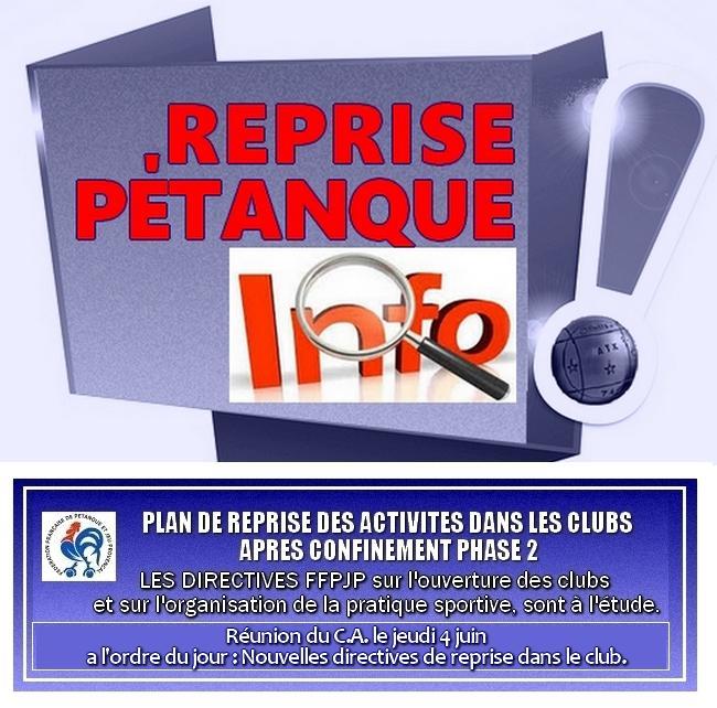 Flash info petanque 11