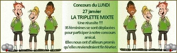 Triplette 27 janvier